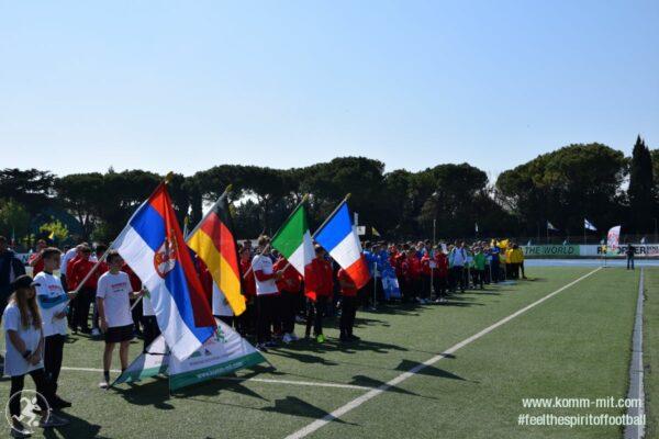 KOMM MIT_Adria-Football Cup_Eröffnungsfeier_Nationen