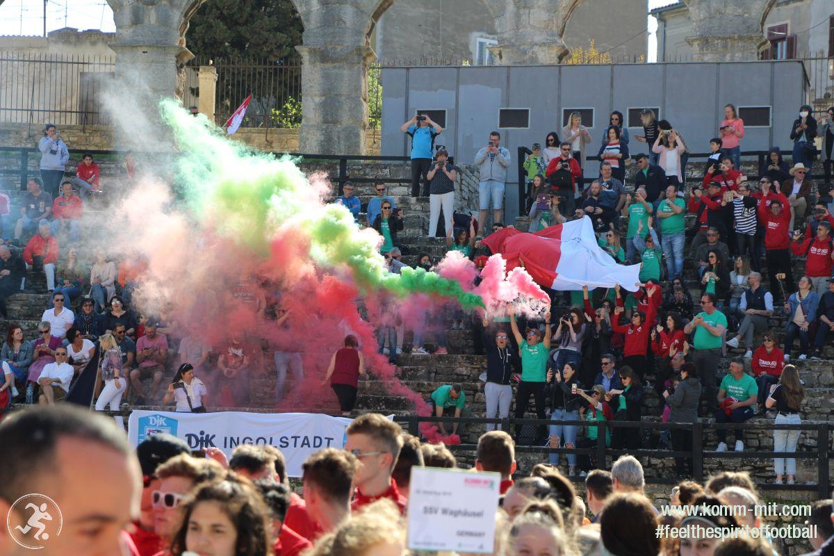 KOMM MIT_Istria-Cup_Fans_Eröffnungsfeier